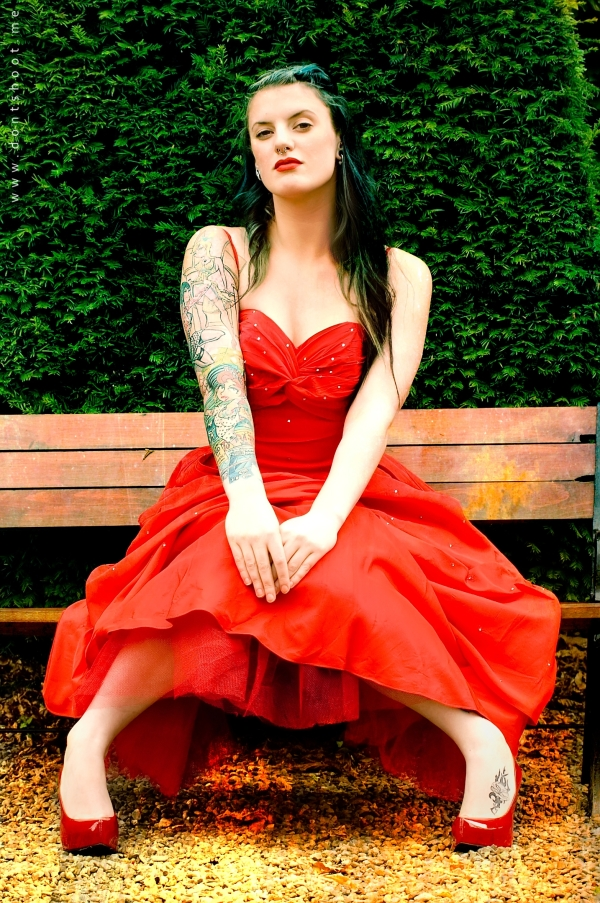 Dirty Fabulous vintage red dress