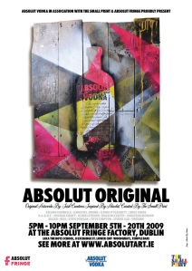 ABSOLUT ORIGINAL Design Exhibition in Dublin