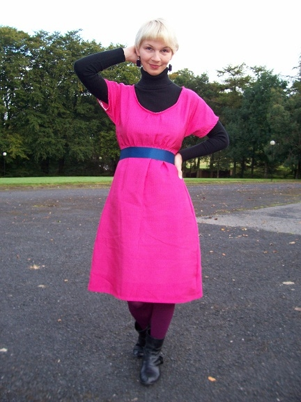 Pink Dress from Quack+Dirk winter style