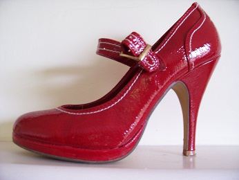 Red Shoe - killer heels