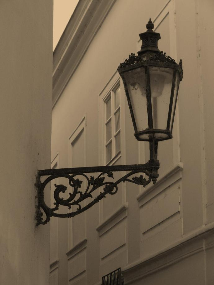 Sepia Streetlamp