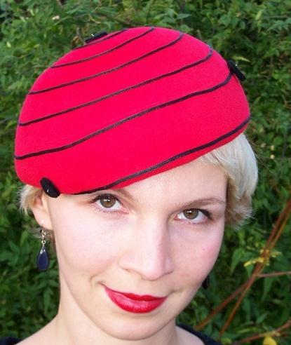 """Lady Bird"" beret"