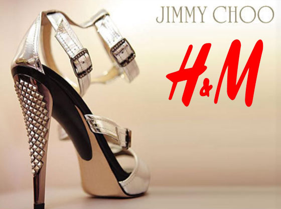Jimmy Choo at H&M