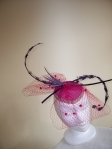 """Merry Widow"" Fascinator"