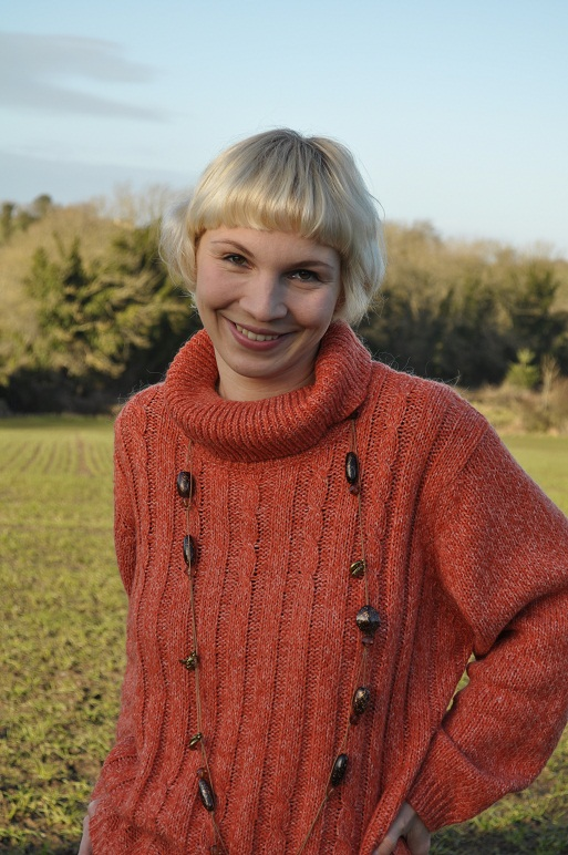 This jumper is the most comfortable thing ever - it is soft, warm and orange!