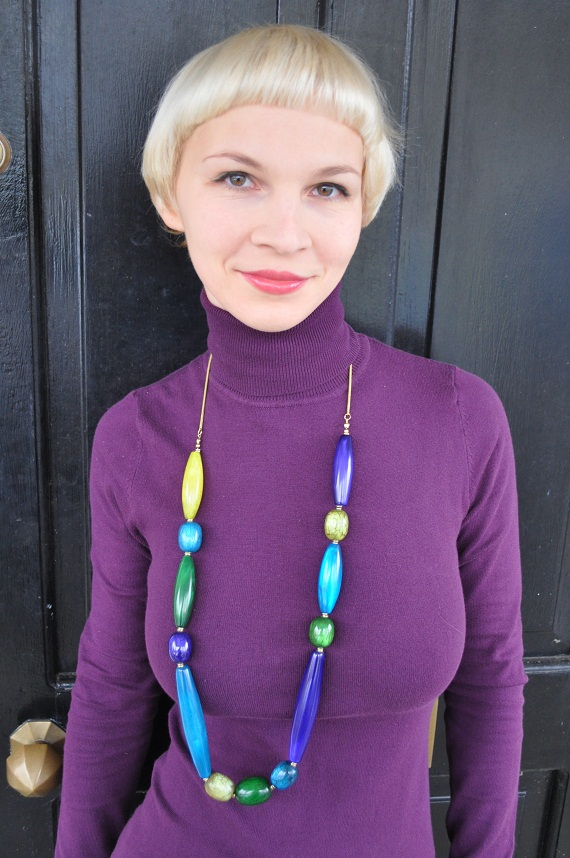statement necklace from Oasis