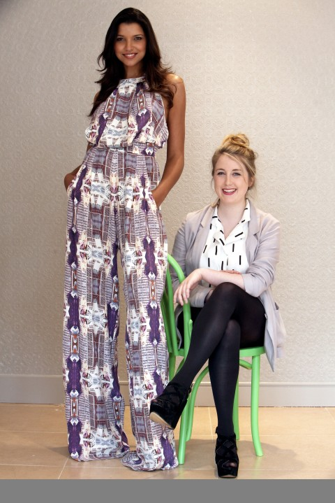 Sile O'Shea Fashion Designer wins the River Island competition